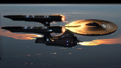 New slick Starship Enterprise NCC-1701 for Star Trek film