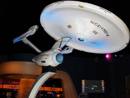 Starship Enterprise on tour