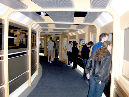 Starship Enterprise Next Generation corridor on tour